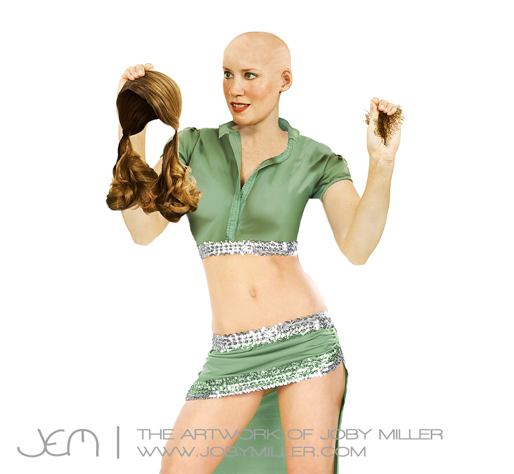 Merkin Model_Photoshop_Illustration_JobyMiller