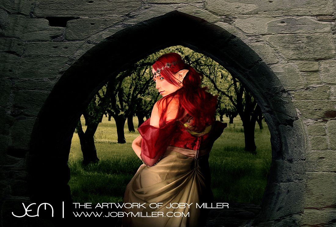 The Lady of the Wraith_Photoshop_Illustration_JobyMiller