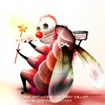 To Be A Clown Or A Fairy_Photoshop_Illustration_JobyMiller.