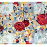 Untitled Decoupage with Cherries-Mixed_Media_JobyMiller