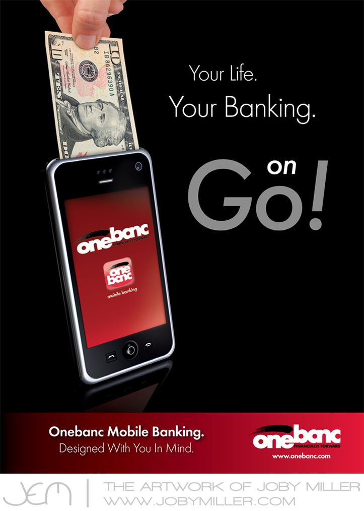 Onebanc Mobile Ad