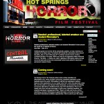Hot Springs Horror Film Festival Website - Wordpress Theme