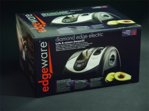 Edgeware Diamond Edge Electric Knife Sharpener Packaging