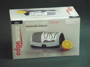 Edgeware Diamond Edge Electric Sharpener Packaging