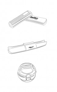 Retail Products Illustrated - Vector Line Drawings