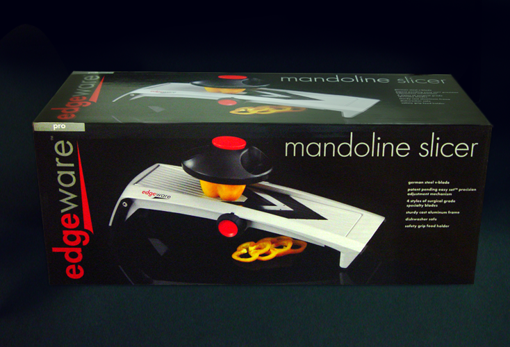 Edgeware Mandoline Slicer Packaging