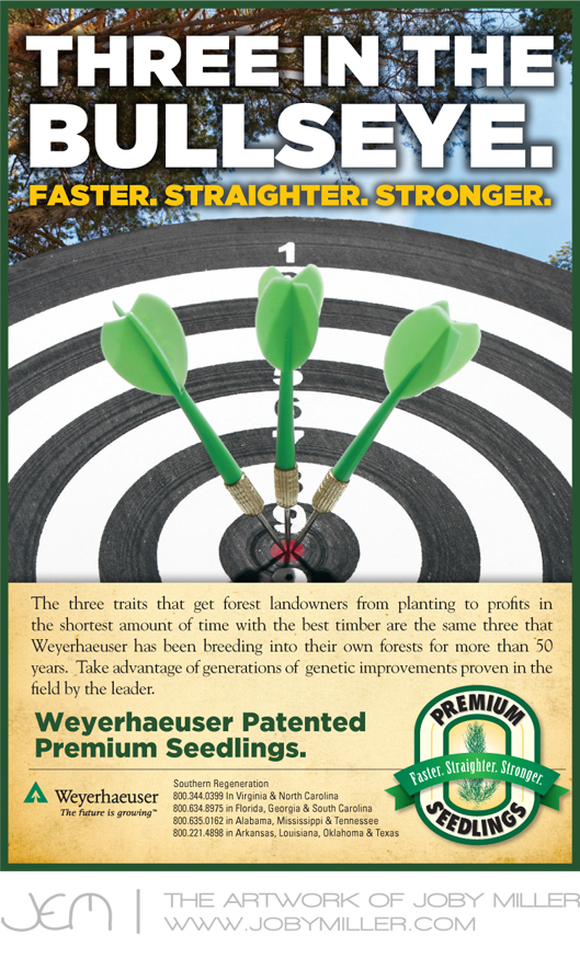 MS Forestry Assoc Bullseye Ad