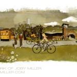 City of North Little Rock Illustration - Joby Miller