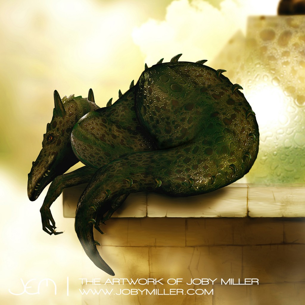 Phrixus's Watchtower_Photoshop_Illustration_JobyMiller