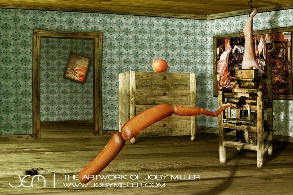 Sausage Fest_Photoshop_Illustration_JobyMiller
