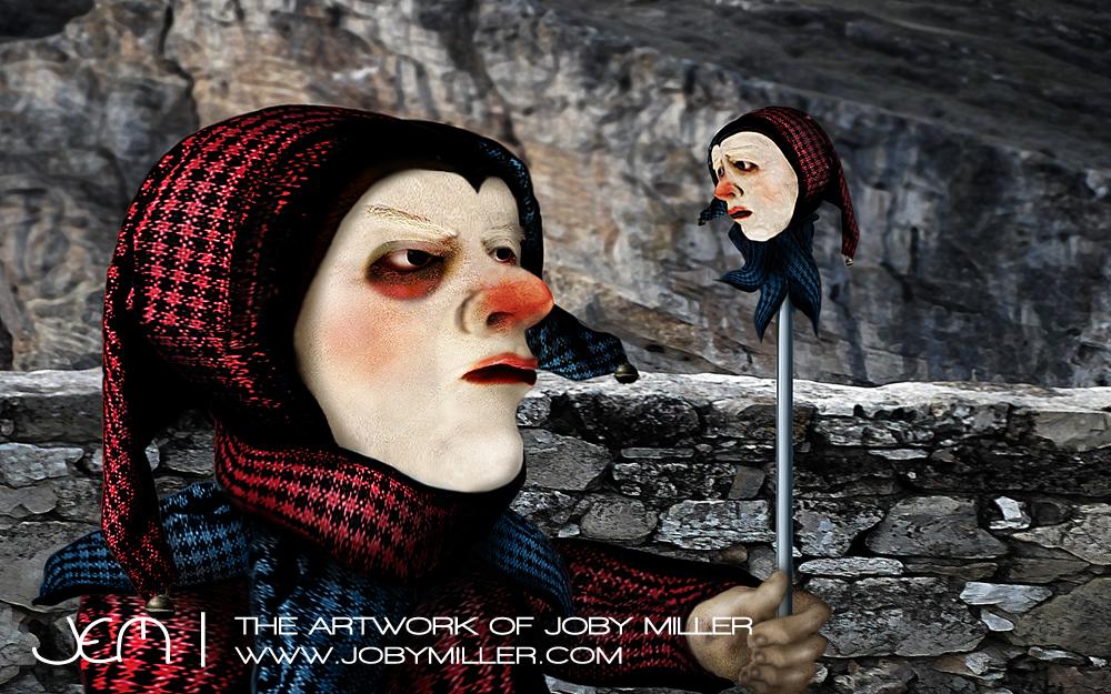 The Royal Jester_Photoshop_Illustration_JobyMiller