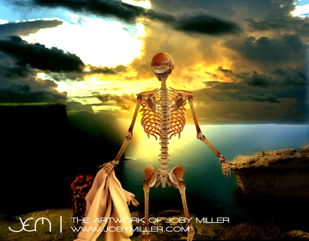 This Mortal Coil_Photoshop_Illustration_JobyMiller