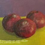 Untitled Still Life Onions_Oil on Panel Study_JobyMiller