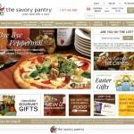 Savory Pantry Website - www.savorypantry.com