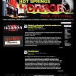 Hot Springs Horror Film Festival Website - Wordpress Theme