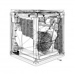 Essick Air Cooler - Vector Outlines