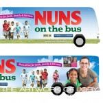 Nuns on the Bus - Campaign Bus Art