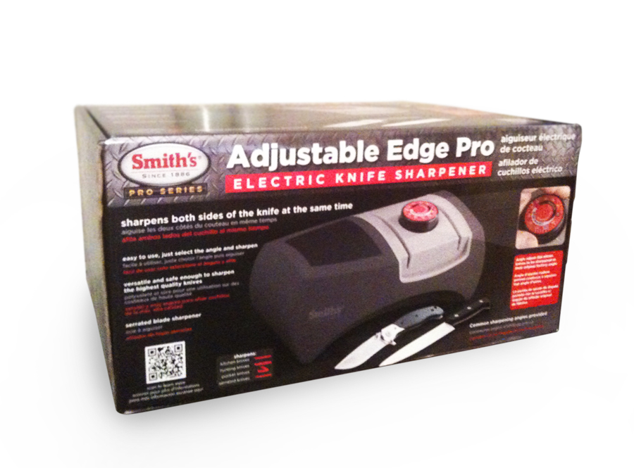 Smith's Adjustable Edge Pro Electric Knife Sharpener Packaging
