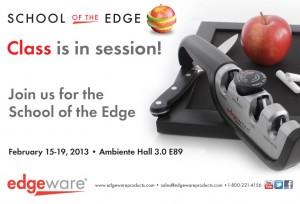 Edgeware - School of the Edge Email Invite